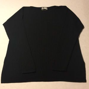 Express Tricot Ribbed Sweater